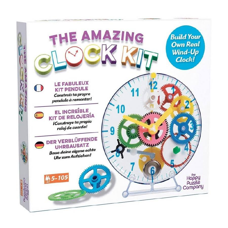 The Happy Puzzle Company The Amazing Build Your Own Clock Kit