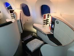 siege business air en images les cabines du 787 9 d air air info