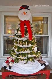 Mr Snowman Tabletop Christmas Tree