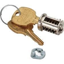 File Cabinet Lock Bar Staples by Hon Lock Core Kit For Metal Chrome Chrome 1 2