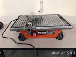 ridgid tile saw 7 inch saw palmetto for bph