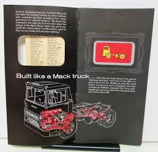 1964 Mack Truck Sales Brochure For MB Models The Family Of Money Trucks