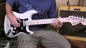 Drown Smashing Pumpkins Guitar by Fender Billy Corgan Stratocaster Product Feature Youtube