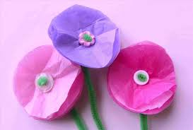 Make Simple Tissue Paper Flowers Easy Craft Flower Project Rhyoutubecom Unique Christmas Ideas For Adultsrhuniqueideassite
