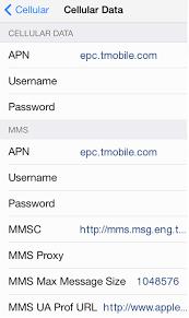 T Mobile 4G LTE APN Settings for iPhone 6 6S iPad US 4G LTE APN USA