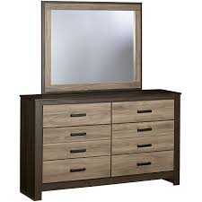 6 Drawer Dresser With Mirror by Dresser With 6 Drawers And Mirror By Standard Furniture Wolf And