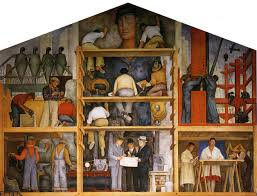 Coit Tower Murals Diego Rivera by The Making Of A Fresco Showing The Building Of A City Diego