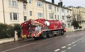 This Garbage Truck Looks Like A Monster Eating All The Rubbish ...