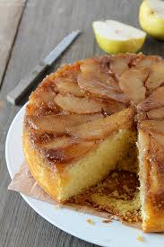 Spiced Pear Upside Down Cake Love Grows Wild