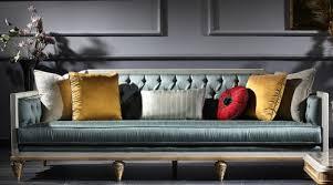 casa padrino luxus barock sofa türkis weiß gold 256 x 89 x h 90 cm prunkvolles chesterfield wohnzimmer sofa im barockstil