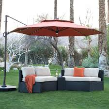 Free Standing Umbrellas Outdoors