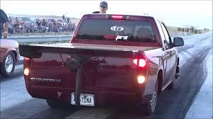 Street Outlaw Tina Pierce Turbo Truck Vs Nitrous Nova At The Hinton ...