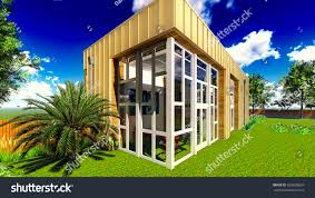100 Www.home And Garden Beautiful Landscape House Stock Illustration 328608629