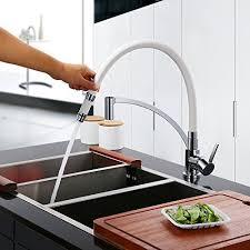 robinet pour evier cuisine homelody robinet de cuisine mitigeur pour evier avec tête douchette