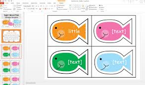 Editable Sight Wor Fish