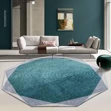 unregelmäßig dicke runde teppich wohnzimmer home runde