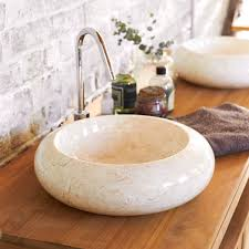 vasque en marbre loop le marbre vasque et materiaux