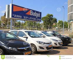 Budget Car Rental In Herzliya, Israel. Editorial Photography - Image ...