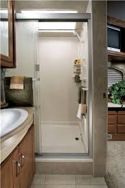 Picture Of The Bathroom In A Luxury Motorhome