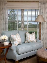 Living Room Curtain Ideas With Blinds by Summer Window Treatment Ideas Hgtv U0027s Decorating U0026 Design Blog Hgtv