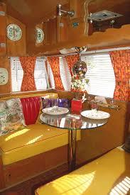 Vintage Shasta Airstream Trailer Interior