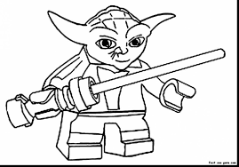 Astonishing Lego Star Wars Coloring Pages Print With To And Man