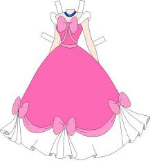 Pink Dress clipart doll clothes 4