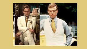 Leonardo DiCaprio And Robert Redford As Jay Gatsby