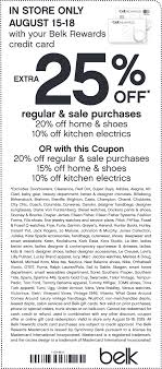 Belk Coupons - Extra 20% Off At Belk, Or Online Via Promo ...
