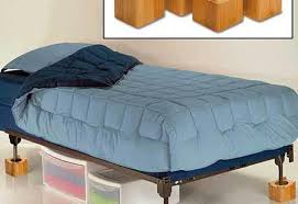 wooden bed risers for wheels loccie better homes gardens ideas
