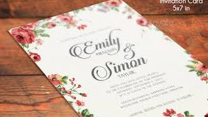 Wedding Invitation Psd Photoshop Templates 21 Elegant