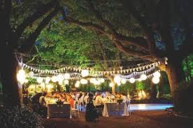 Elegant Outdoor Reception Venues Garden Wedding