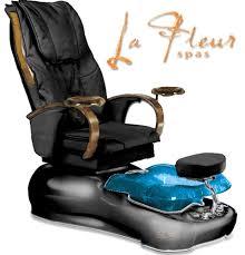 la fleur pedicure spa 9500 with shiatsu massage by gulfstream
