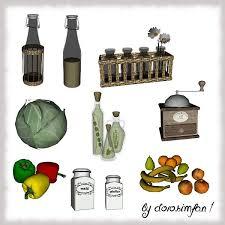 Kitchen Clutter By Dorosimfan1 For Sims 3