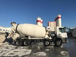 100 Concrete Truck Capacity MERCEDESBENZ 2014 Model Axor 4140 Euro 5 12 M3 Concrete Mixer Truck