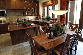 Rustic Country Dining Room Ideas by Country Kitchen Design And The Rustic Country Kitchen