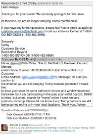 Bed Bath Beyond Beverly Center by Bed Bath U0026 Beyond Denies It U0027s Scrapped Ivanka Trump Goods Daily
