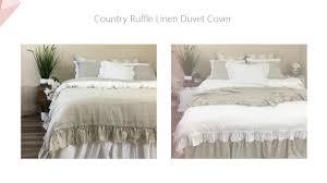 Box Pleat Bed Skirt by 2017 07 New Items Linen Bedding Duvet Cover Bed Skirt Shams