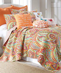 Echo Jaipur Bedding by Another Great Find On Zulily Teal U0026 Orange Paisley Quilt Set By