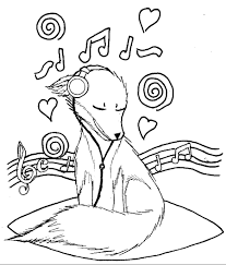 Music Coloring Pages For Kindergarten Archives Within
