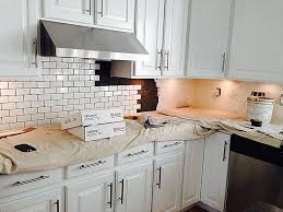 Beveled Tile Inside Corners by Subway Tile Kitchen Backsplash How To Withheart