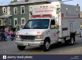 A Salvation Army Emergency Disaster Service Vehicle Stock Photo ...