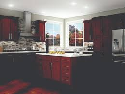 Menards Beveled Subway Tile by Kitchen Kompact Glenwood Beech Cabinets Ideas For The Kitchen