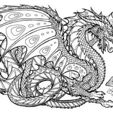 Coloring Pages Dragon To Print Free