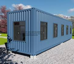 100 Modular Shipping Container Homes Hot Item 40FT Prefabricated Prefab House For Farm