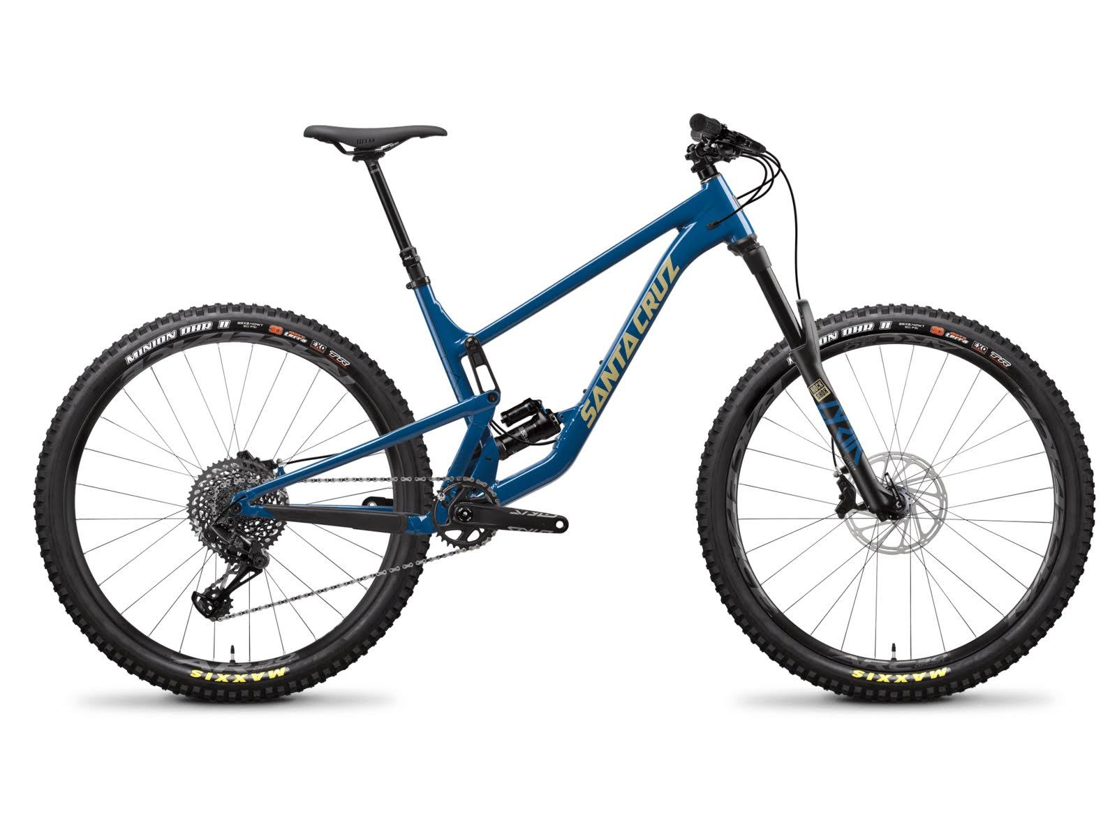 Santa Cruz Hightower A S Highland Blue and Desert / LG