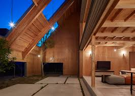 100 Interior Roof Designs For Houses Suppose Design Office Hides Garden Beneath Roof Of House In Anjo