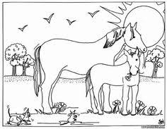 Mare And Foal Coloring Page All HORSE Pages Including This Are Free Enjoy The Wonderful World Of Sheets