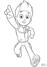 Click The Paw Patrol Ryder Coloring Pages To View Printable Version Or Color It Online Compatible With IPad And Android Tablets