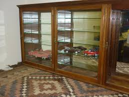Antique Shop Display Cabinets